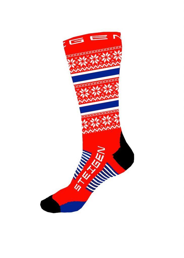 Norgessokken er en god løpesokk med kult design